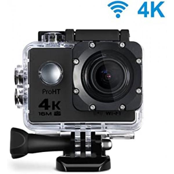Camara Sport Action 4K 2 in LCD/ WiFi/ R...