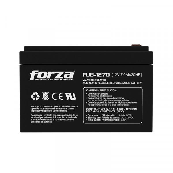 Bateria de UPS Forza Recargable 12V 7.0A...