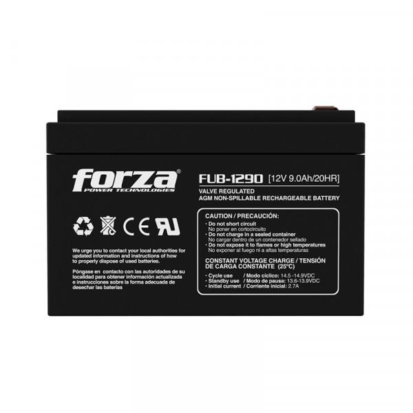 Bateria para UPS Forza FUB-1290 12V 9.0A...