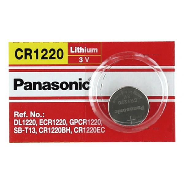 Bateria Panasonic Litio 3V CR1220