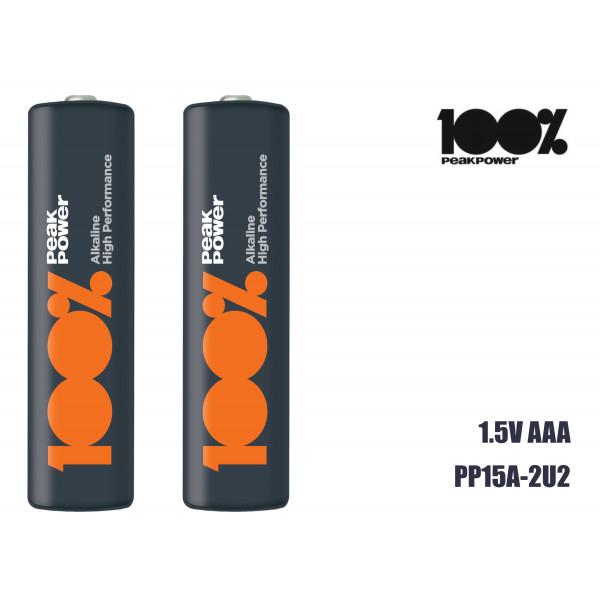 Bateria 1.5V AAA PP24A-2U2
