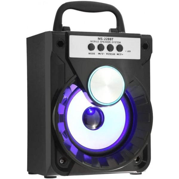 Bocina Reproductor MP3 MS-227BT Micro SD...
