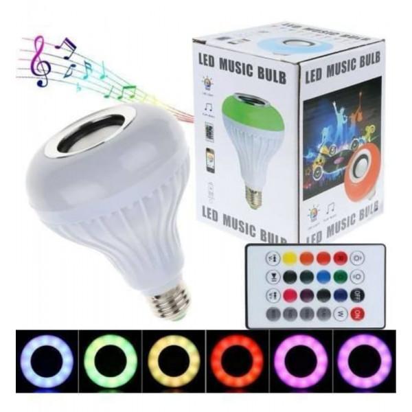 Bocina de foco RGB / Led music bulb