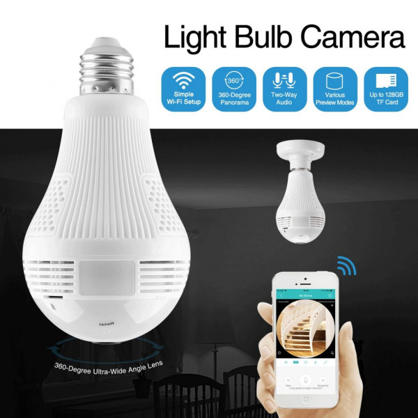 Camara Ip foco B2-R / 2.0MP / Light Bulb...