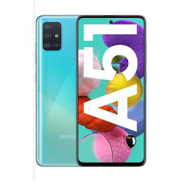 "Celular Samsung Galaxy A51 SM-A515F/DS OctaCore 2.3Ghz/ 6.5"" SAL/  Cam 48MP+12MP+5MP/ 4GB RAM/ Mem 128GB/ Finger/ Dual"
