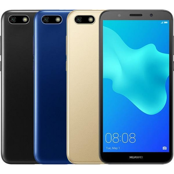 "Celular Huawei Y5 2018 QC 1.5Ghz/ 5.45"" Screen/1GB RAM/ 16GB Mem/ Cam 8MP/ GPS/ Android/ WiFi/ Bluetooth/ 3000mAh"