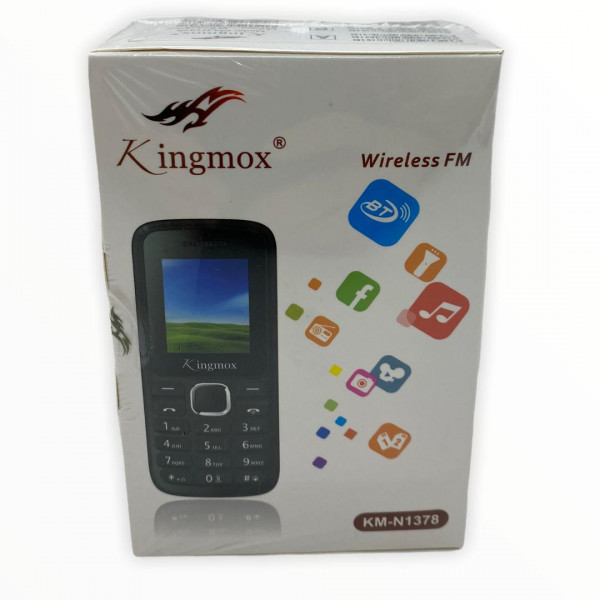 Celular Kingmox KM-N1378 / 1.8 pulg. LCD / Camara 0.3 MP / 1000 MAh / Wireless FM
