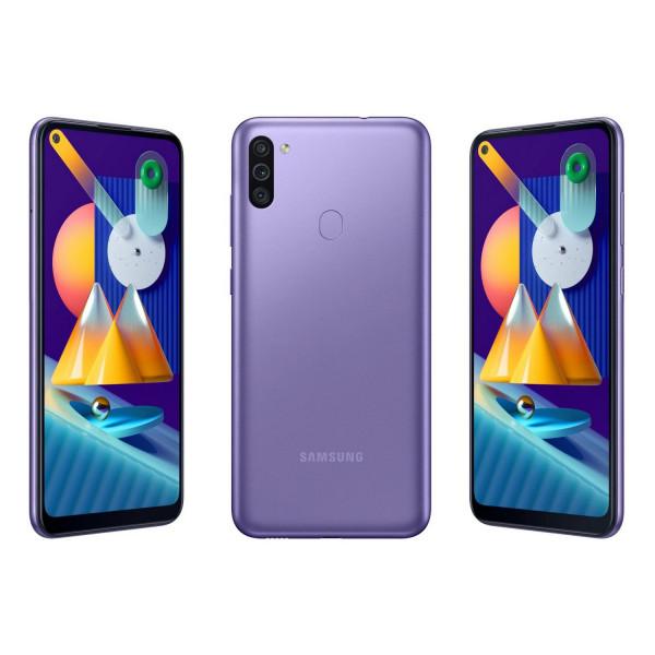 Celular Samsung Galaxy M11 SM-M115M/DS OctaCore 1.8Ghz/ 6.4 HD+/ Cam 13MP+5MP/ 3GB RAM/ Mem 32GB/  WiFi/ Dual Sim/ Finger