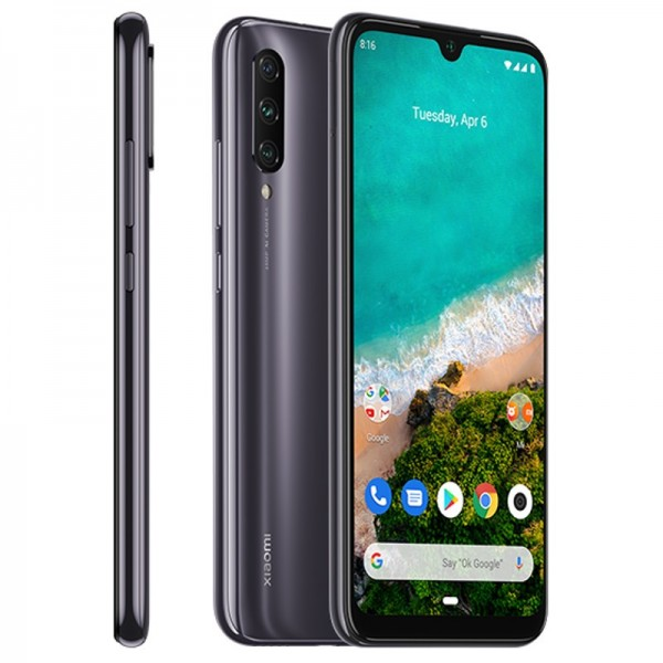 Celular Xiaomi Mi A3 OC 2.2Ghz/ 6.08 Screen/4GB RAM/ 128GB Mem/ Cam 48MP/ GPS/ Android/ WiFi/ Bluetooth/ LTE