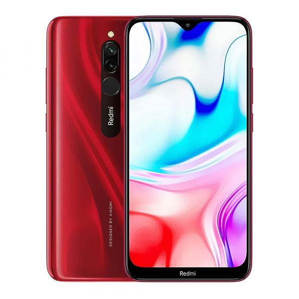 "Celular Xiaomi Redmi 8 QC 1.95Ghz/ 6.22"" Screen/4GB RAM/ 64GB Mem/ Cam 12MP/ GPS/ Android/ WiFi/ Bluetooth/ LTE"