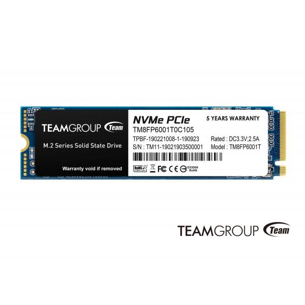 Disco SSD M.2 TeamGroup 1TB MP33 NVMe PC...