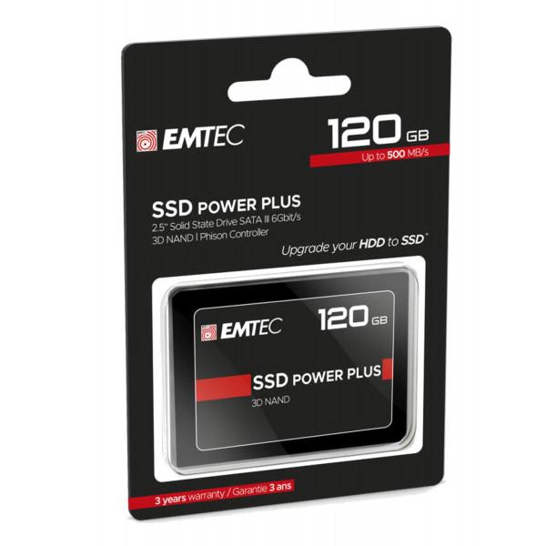 Disco Duro SSD HD EMTec 120GB 2.5 SATA 3