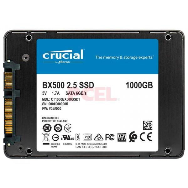 Disco Duro SSD HD Crucial 1TB 2.5 SATA 3...