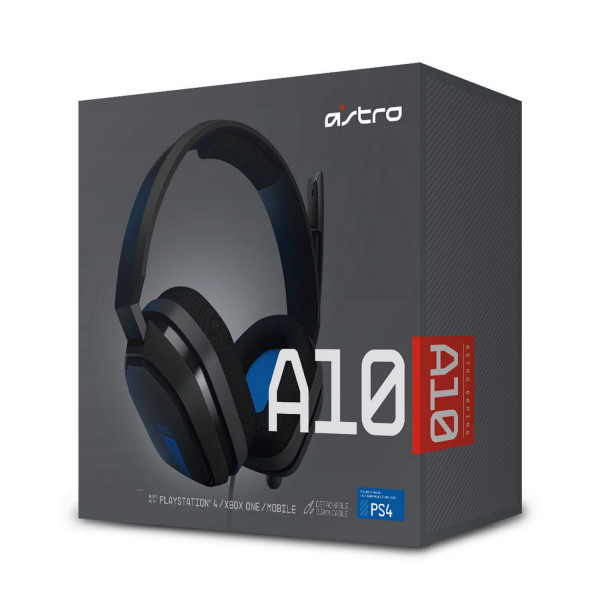 Headset Gaming Astro A10/ 3.5mm/ PS4/ Xb...