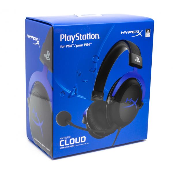 Headset gaming Hyperx Cloud para PS4