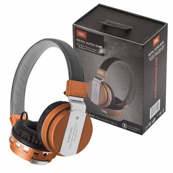 Headset JB55 Metal Super Bass Wireless