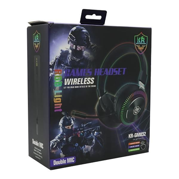 Headset gaming Kingmox Inalambrico KR-GM...