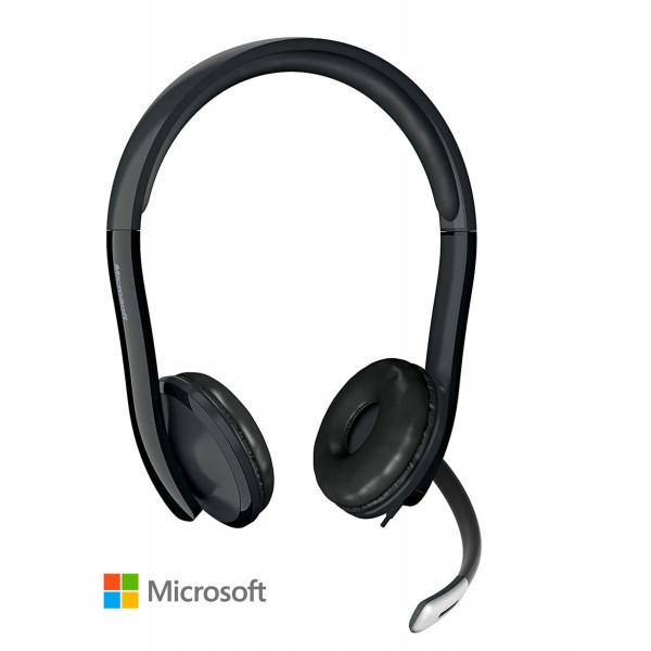 Headset Microsoft LifeChat LX-6000 para oficina / supresor de ruido / USB