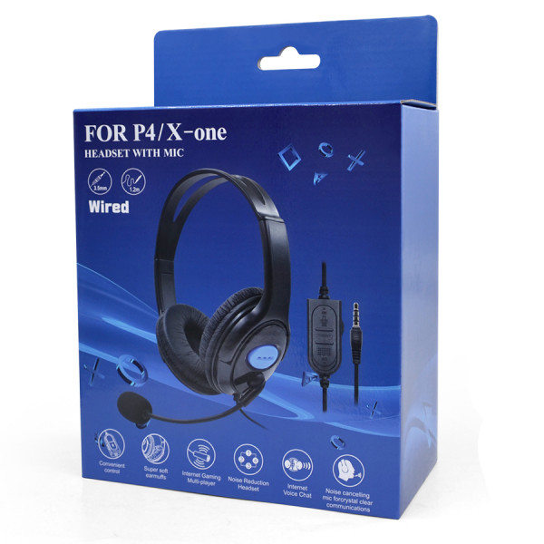 Headset P4/X-One AMD-01