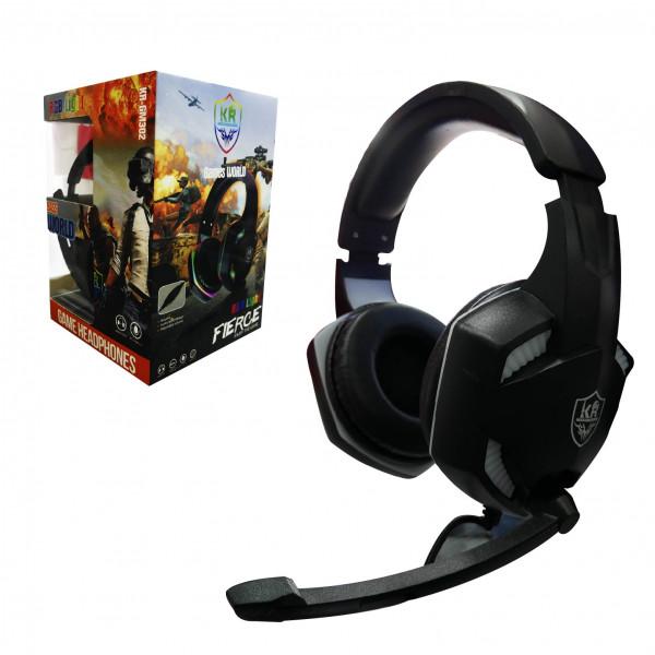Headset gaming KR-GM302 / RGB Light / ad...