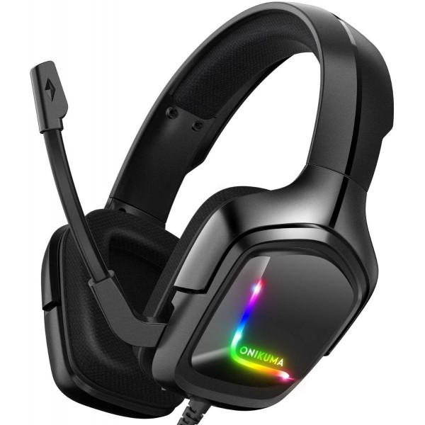 Headset Onikuma K20 / 1 conector + adapt...