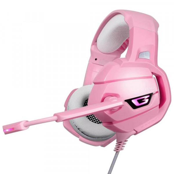 Gaming headset Onikuma K5 rosado 3.5mm