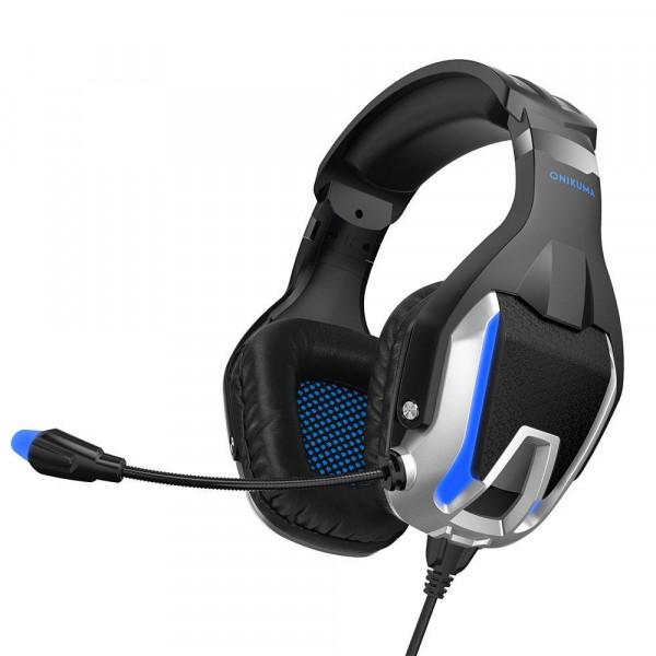 Headset Onikuma K12 / 1 conector + adaptador 2 en 1 3.5mm
