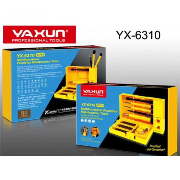 Juego de herramientas YX-6310 / 41 pieza...