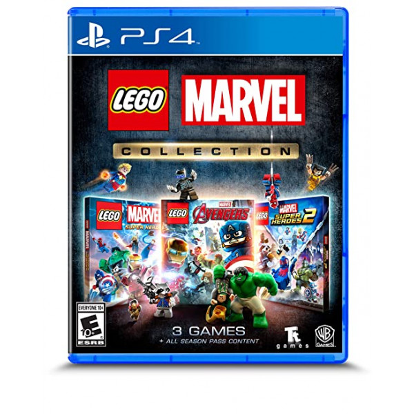 Juego de Ps4 Lego Marvel Collection