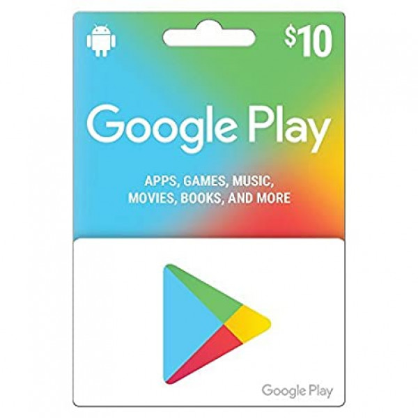 Google Play Card $10.00 ( CUENTA DE USA ...
