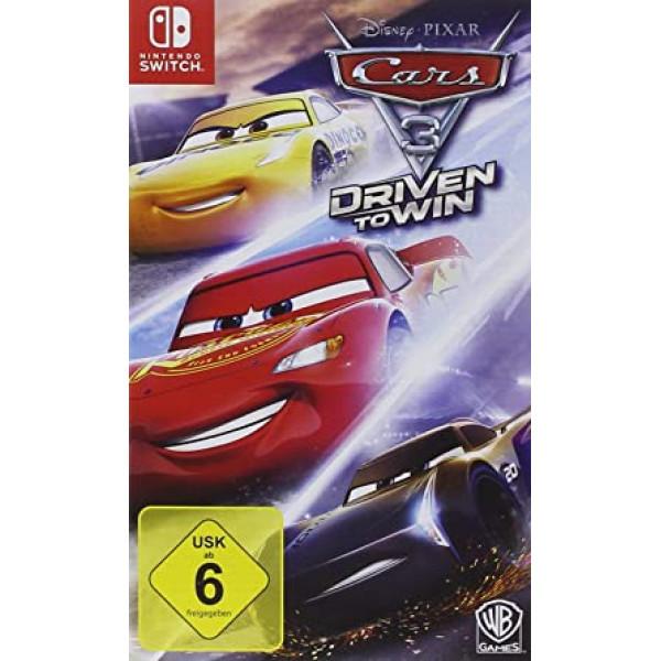 Juego Nintendo Cars 3 Driven to Win