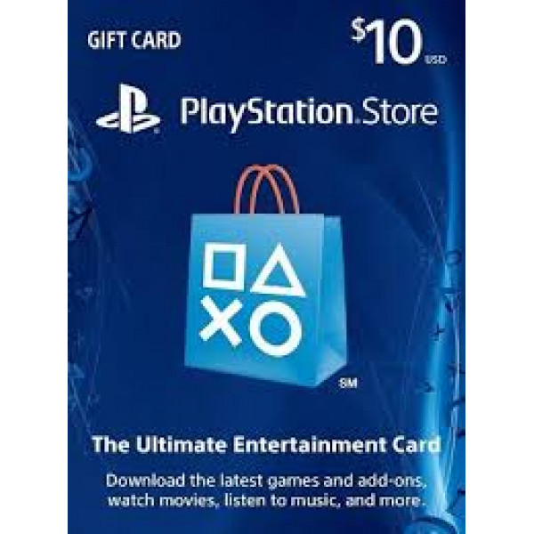 PSN Playstation Network Card $10.00