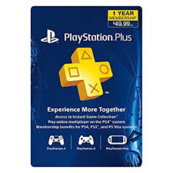 PSN Playstation Plus 1 año de suscripci...