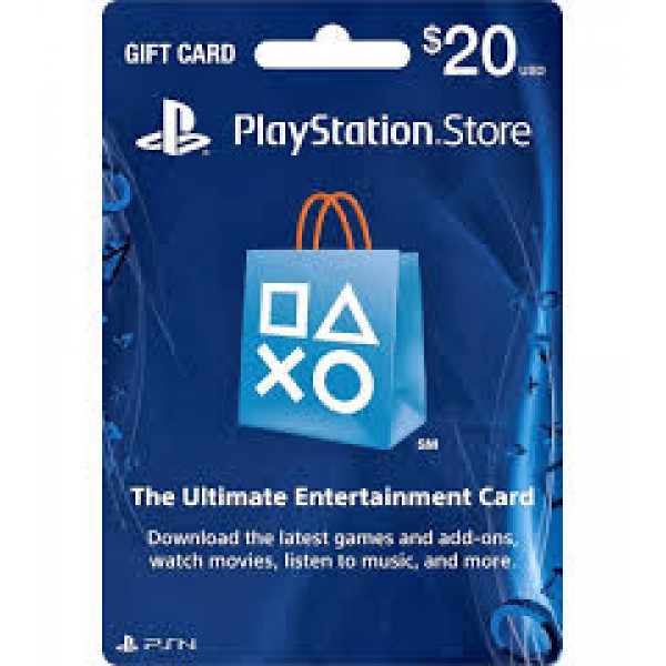 PSN Playstation Network Card $20.00