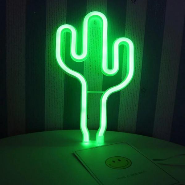Luz led Cactus