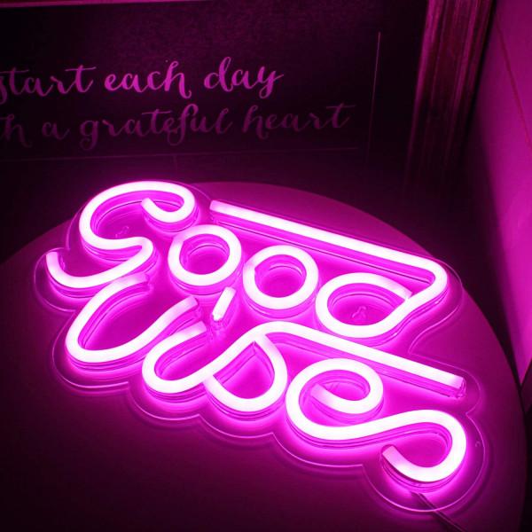 Luz led good vibes