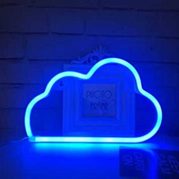 Luz led nube