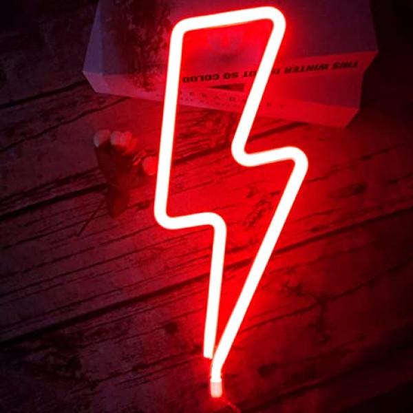 Luz led rayo