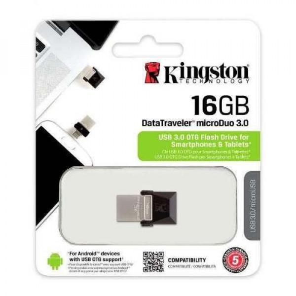 Memoria USB Kingston 16GB MicroDuo 3.0