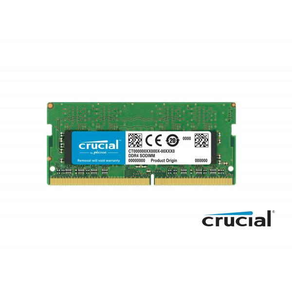 Memoria Crucial 8GB DDR4-2666Mhz Sodimm