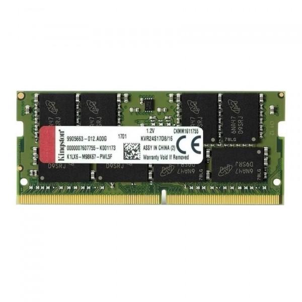 Memoria Kingston 16GB DDR4-2400Mhz Sodim...