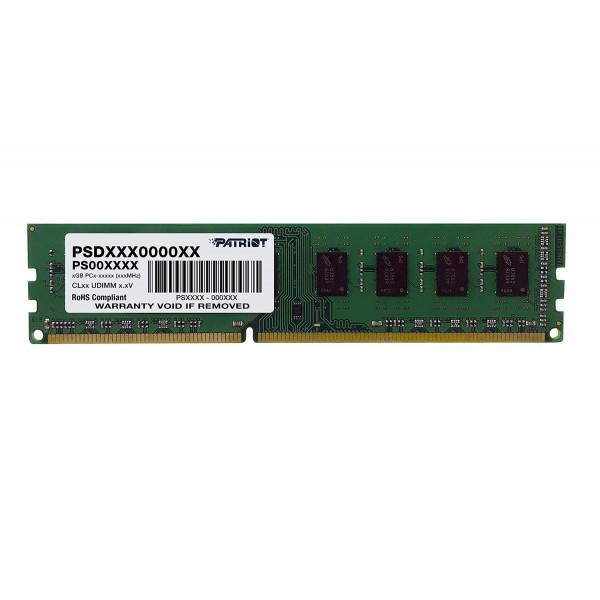 Memoria Patriot 8GB DDR3-1600Mhz PSD38G16002