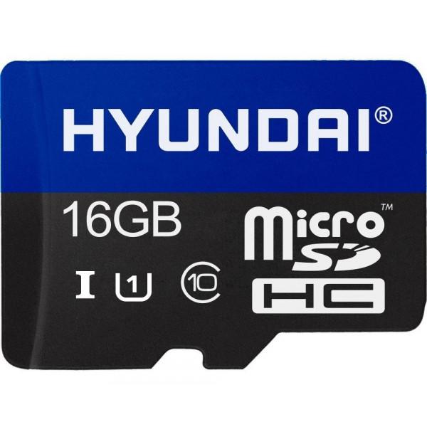 MicroSDHC Hyundai 16GB 90MB/s U1 Clase 1...