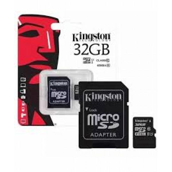 Memory Card SDHC Kingston 32GB Clase 10 ...