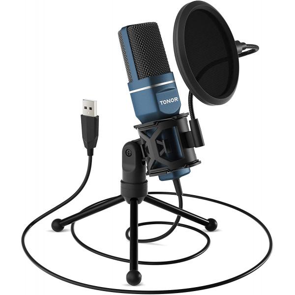 Microfono Tonor TC-777 USB / con tripode...