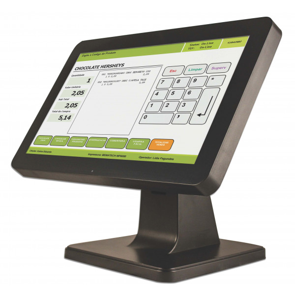 Monitor Bematech Touch Screen LCD 15.6