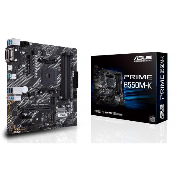 Motherboard Asus Prime B550M-K AMD AM4 R...