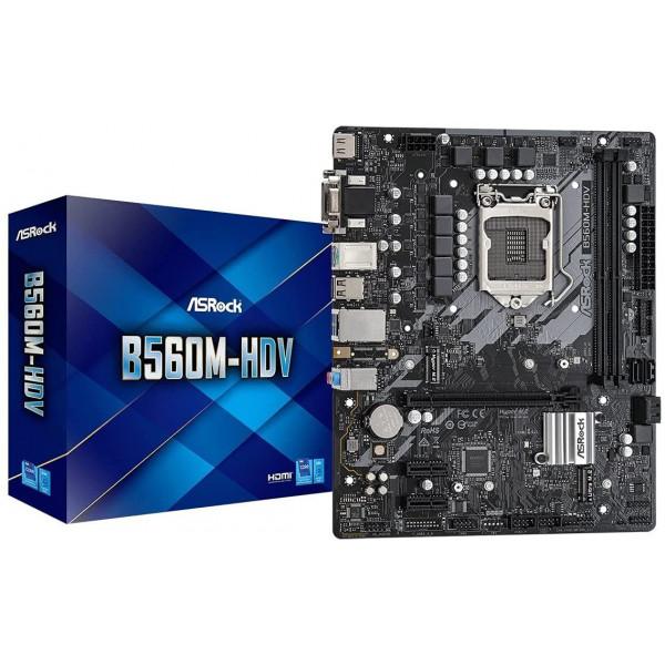 Motherboard Asrock B560M-HDV Intel B560M...