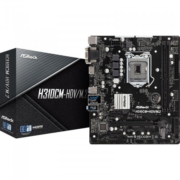 Motherboard Asrock H310CM-HDV/M.2  Core ...
