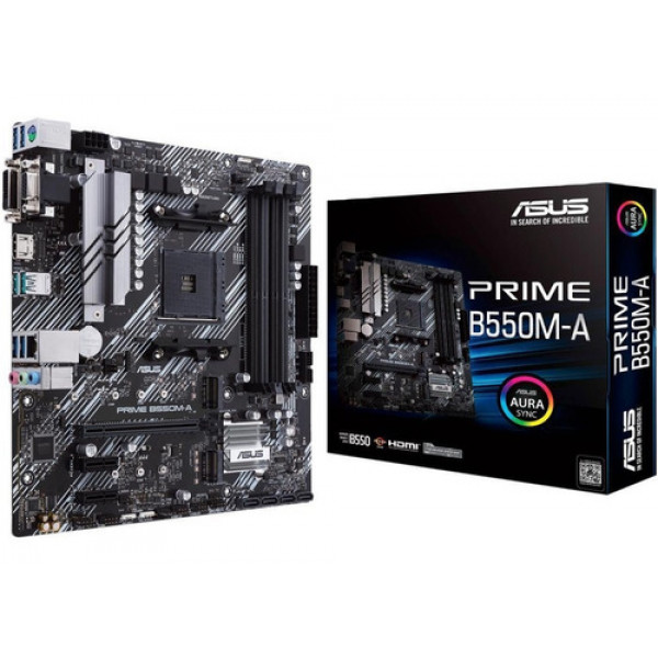 Motherboard Asus Prime B550M-A AC AMD AM...